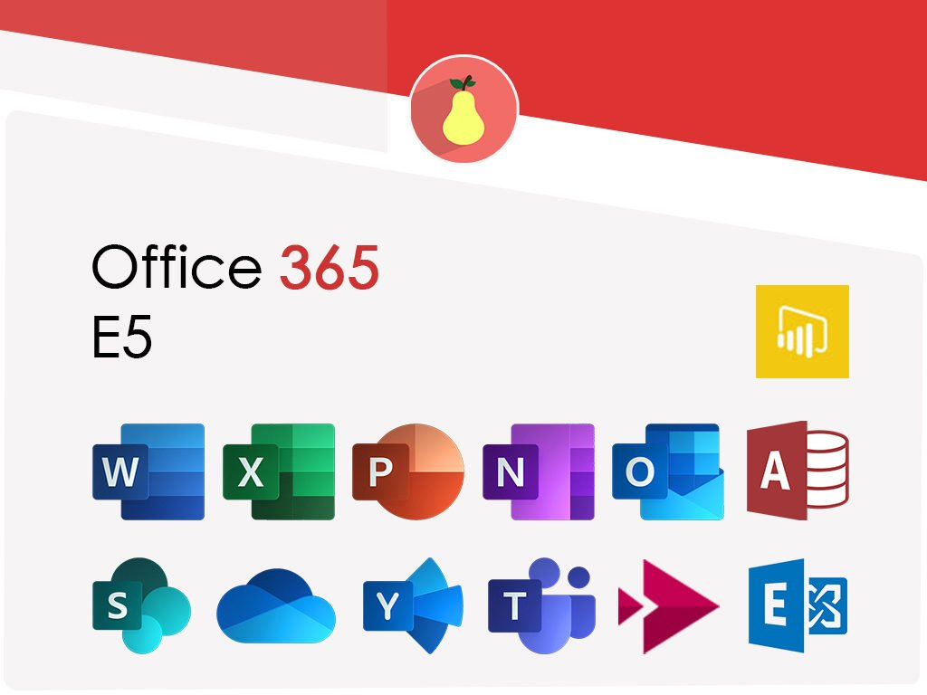 What Microsoft Office 365 E5 includes