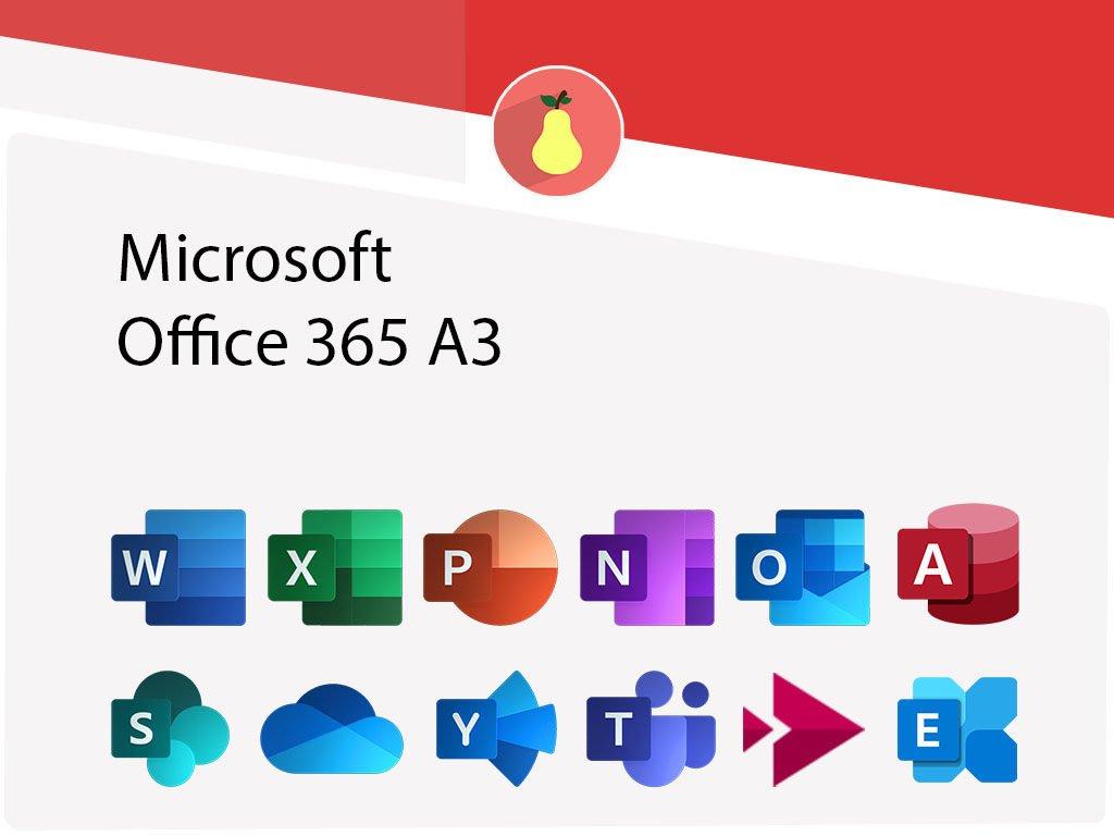 Microsoft Office 365 A3