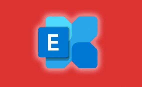 Exchange icon on an orange background